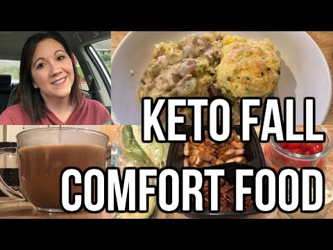 What I Eat To Lose Weight | Keto Chicken Pot Pie | Journey To Healthy