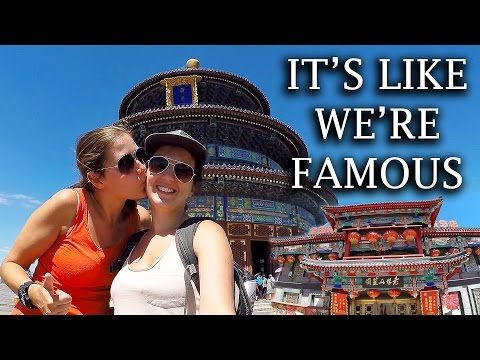 TRAVEL VLOG | TEMPLE OF HEAVEN (BEIJING, CHINA) - DAY 101