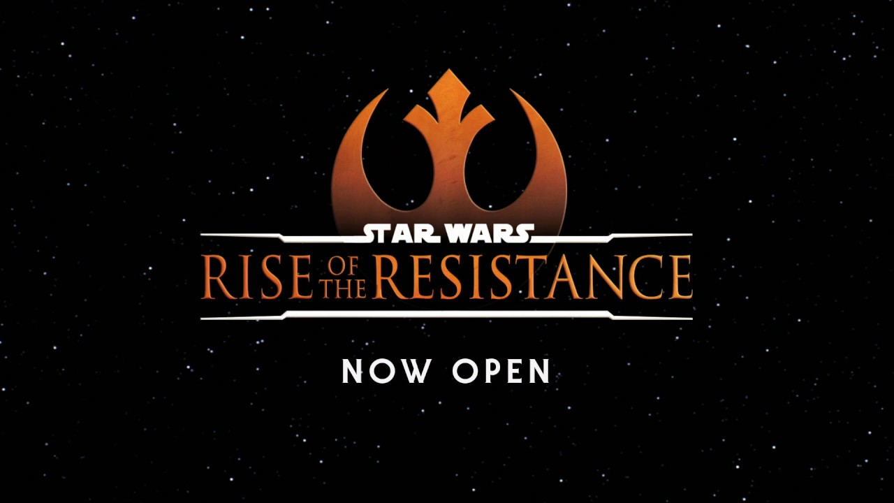 Star Wars: Rise of the Resistance | Now Open