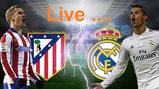 LIVE ATLETICO MADRID VS. REAL MADRID  ⚽ Live Stream HD Champions League 10/05/2017