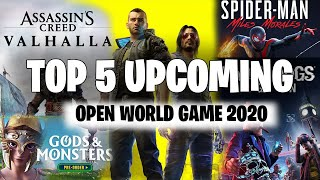 5 Most Lively Upcoming Open World Game in 2020