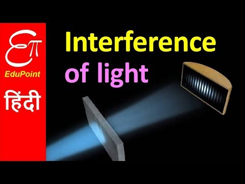 INTERFERENCE of Light - YOUNG'S DOUBLE SLIT Experiment | explained in HINDI