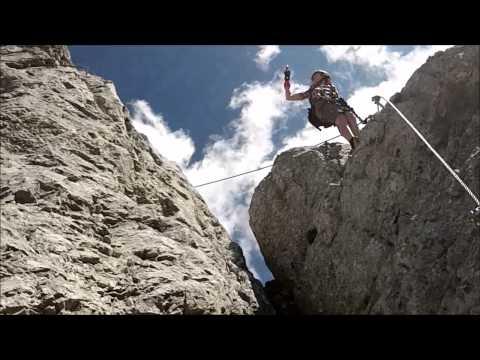 Klettersteig Eitweg : Klettersteig eitweg youtube