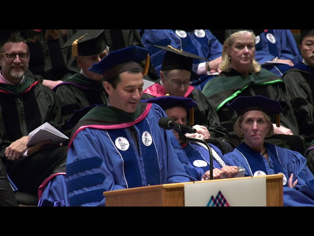Dr. Scott Gottlieb Addresses Graduates at the 2019 Commencement