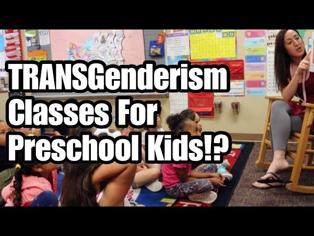 Gender Classes for Preschoolers ... Would you have YOUR kid in this school?