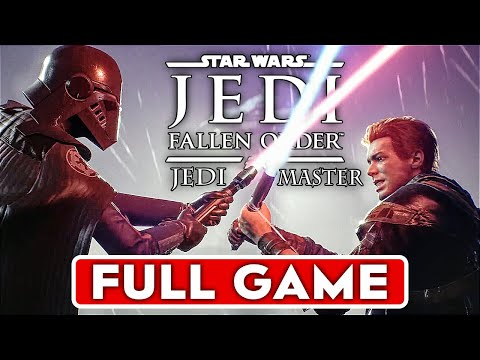 STAR WARS JEDI FALLEN ORDER Gameplay Walkthrough Part 1 FULL GAME Jedi Master - 60FPS No Commentary