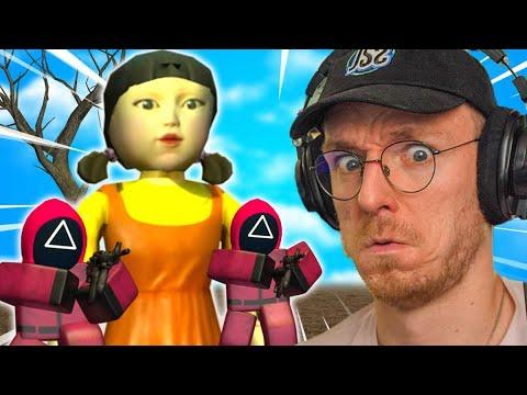 Meedoen aan SQUID GAME Roblox (Met Ronald)