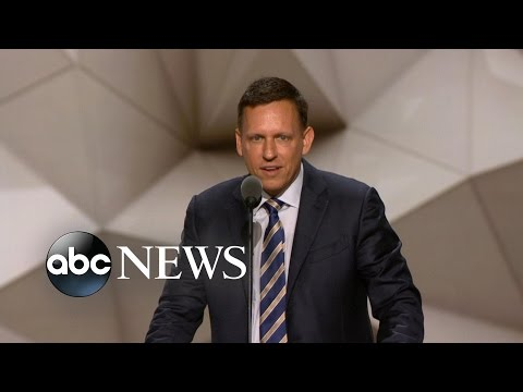 Peter Thiel: 'I'm Proud to Be Gay, I'm Proud to Be a Republican'