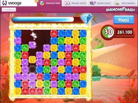 Diamond Dash (wooga) on Facebook: 793.729 points, NO cheat!