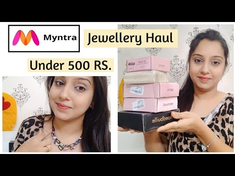 🌟myntra-jewellery-haul🌟eros-sale-|-upto-80%-off-|-partywear-collection