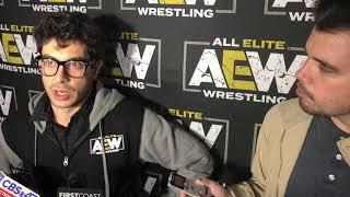 مؤسس اتحاد المصارعة AEW توني خان يناقش خطط الاتحاد وغيرها من الأمور - في الحلبة