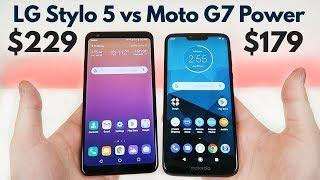 LG Stylo 5 vs Moto G7 Power - Which is Better?