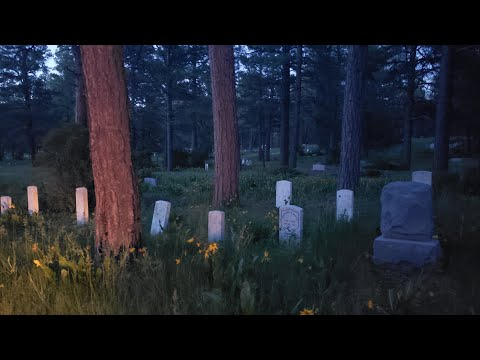 Haunted Hill Top Cemetary, Searching for Ghosts