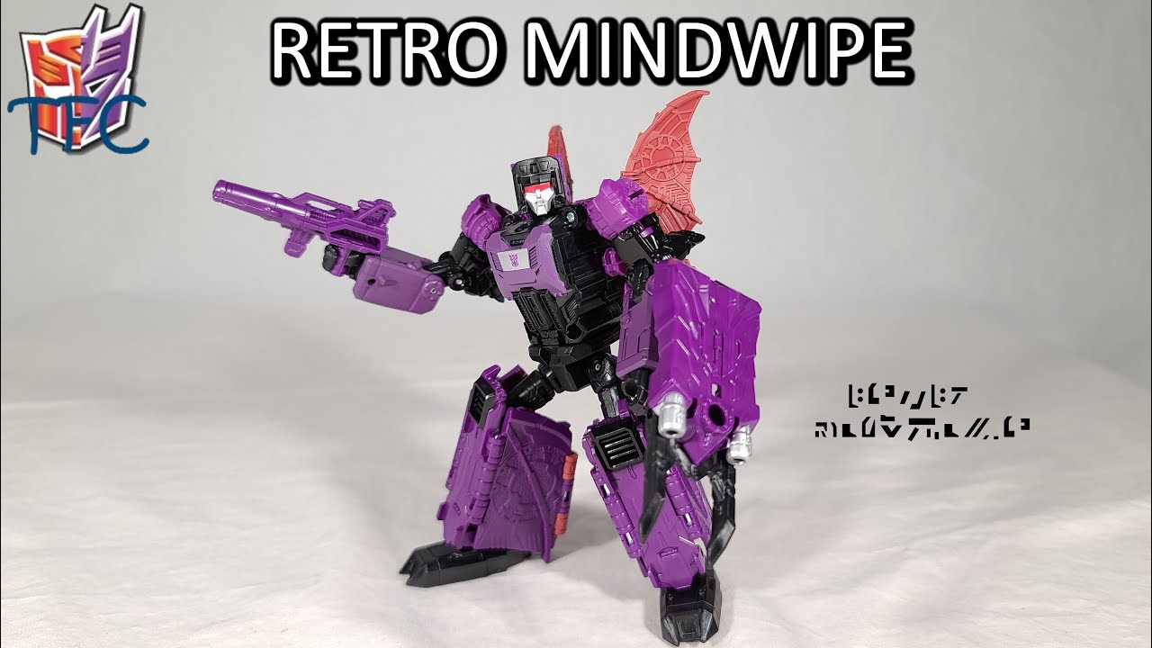 TF Collector Retro Headmaster Mindwipe Review!