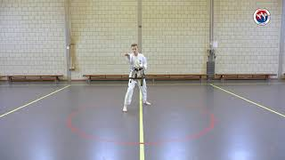 Chang-Hun - Thuistraining Taekwon-Do les 1