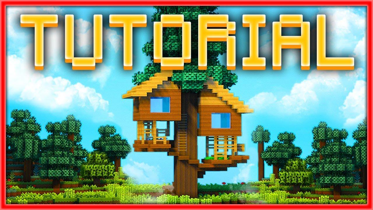 Como hacer una casa en el rbol en minecraft tutorial - El mejor ambientador para casa ...