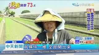 20191030中天新聞 蔡選前搶票?16億農機補助 小農怒:沒幫助
