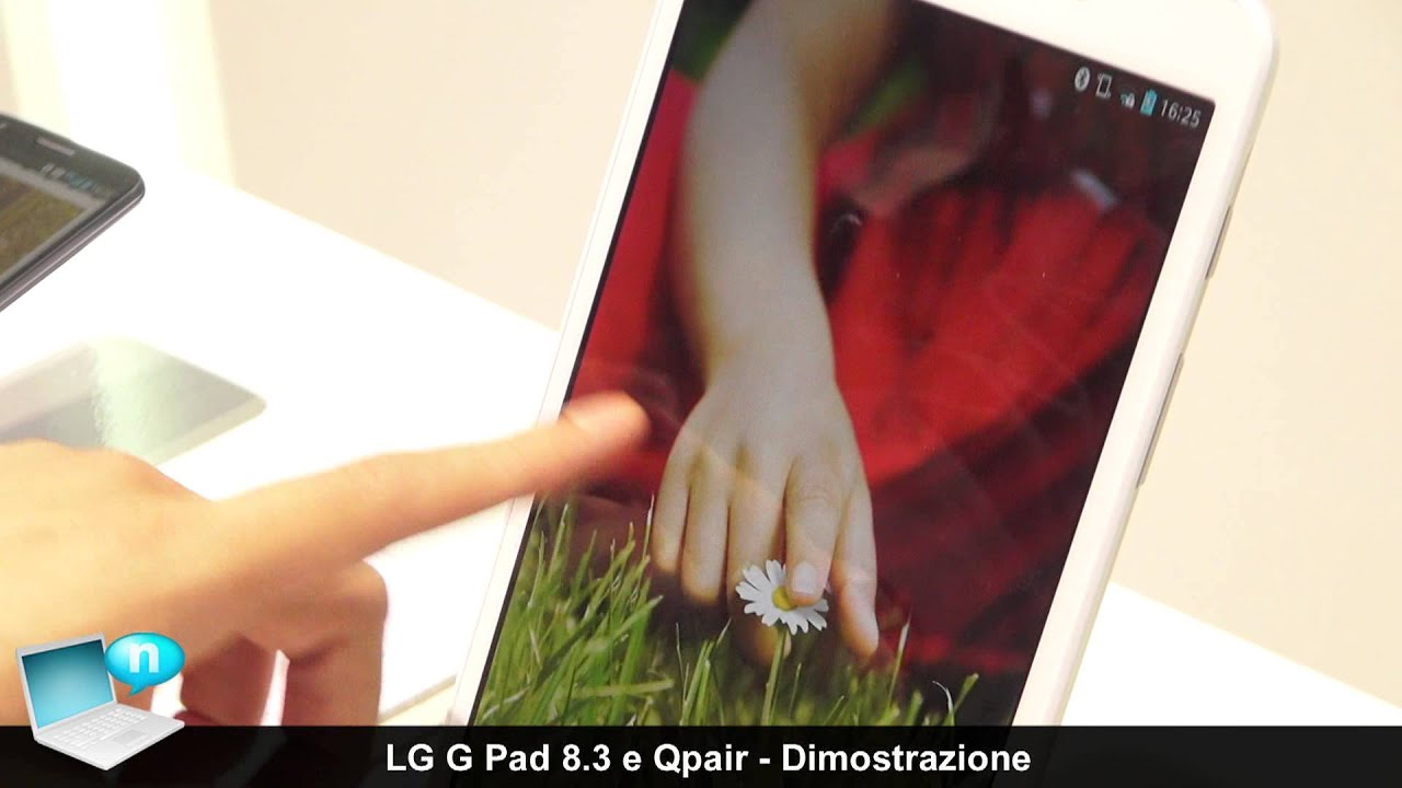 LG G Pad 8.3 and LG Qpair (ENG)