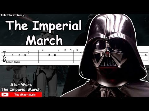 Star Wars - The Imperial March Guitar Tutorial