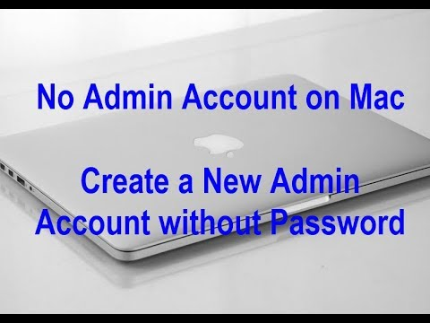 No Admin Account on macOS Mojave/High Sierra? Here's the fix