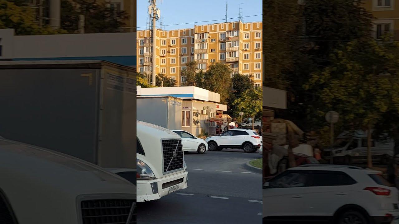 Адские пробки в Краснодаре.