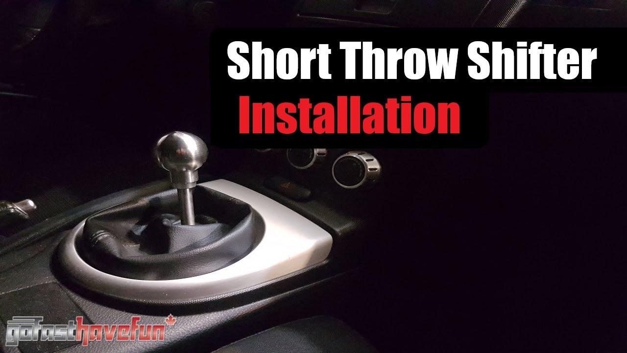 Short Throw Shifter/ Short Shifter Install (Nissan 350Z | Infiniti G35 |  Torque Solution)