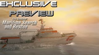 Exclusive Preview Ship Simulator- Maritime Search and Rescue