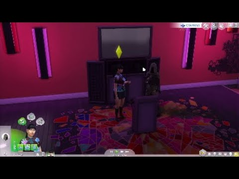 The Sims 4 - Karaoke With The Grim Reaper