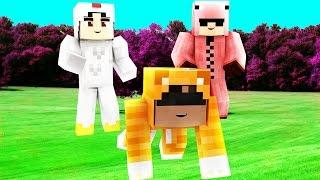 CHICKEN or CAT or PIG? - Hide 'N Seek (Minecraft Mini-Games) #1