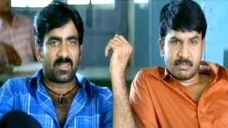 Comedy Kings - Venky And His Friends Selectes For S.I Training Comedy Scene - Ravi Teja