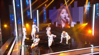 B.A.P - Secret love(feat.Ailee), 비에이피 - 비밀연애(feat.에일리), Music Core 20120310
