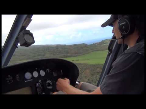 20130531 Hawaii Heli Takeoff Tour - Part 1 of 2 - Private Video
