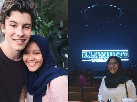 MEETING SHAWN MENDES FOR THE FIRST TIME & ILLUMINATE WORLD TOUR SINGAPORE  2017 | BAHASA