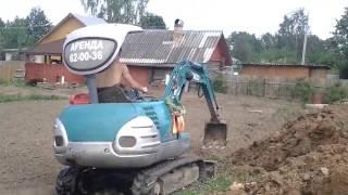 Аренда мини экскаватора в Череповце