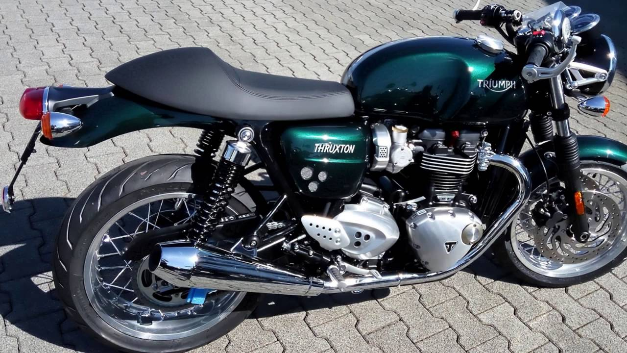 2016 triumph thruxton 1200 competition green youtube. Black Bedroom Furniture Sets. Home Design Ideas