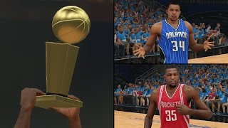 NBA 2K15 Goof Troop Playoffs - NBA Finals vs. Houston