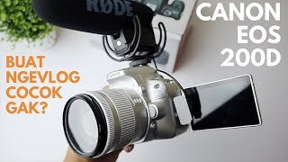 UNBOXING & REVIEW CANON EOS 200D, Dslr Rasa Mirrorless