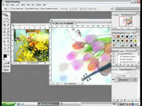 การทำแบนเนอร์ด้วย Photoshop.3gp