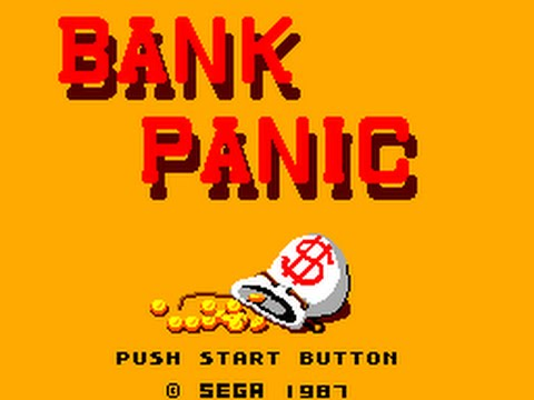 Master System Longplay [108] Bank Panic