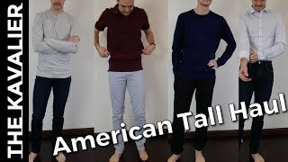 The Best Brand for Tall Guys (6'3+)?? American Tall Unboxing (Shirts, Pants, Polos and more)