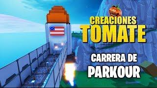 Carrera de Parkour - Creaciones Tomate - Episodio 6