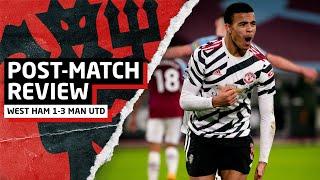 Bruno + Rashford = PARTY!!   West Ham United 1-3 Manchester United   Post-Match Review