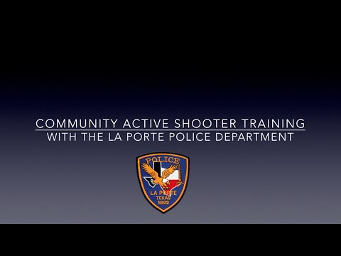 Community Active Shooter Training Run Hide Fight Technique