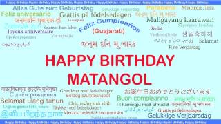 Matangol   Languages Idiomas - Happy Birthday