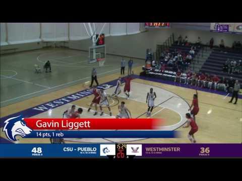 CSU Pueblo vs. Westminster College Men's Basketball Highlights