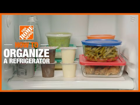 How to Organize Your Refrigerator | Cleaning Tips  | The Home Depot