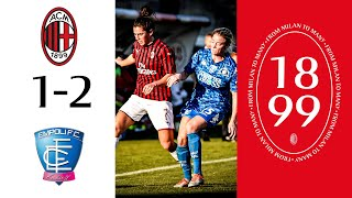 Highlights | AC Milan 1-2 Empoli Ladies | Matchday 11 Serie A Women 2019/20