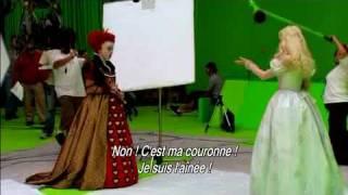Alice au pays des merveilles - DVD - Making of La Reine Rouge streaming