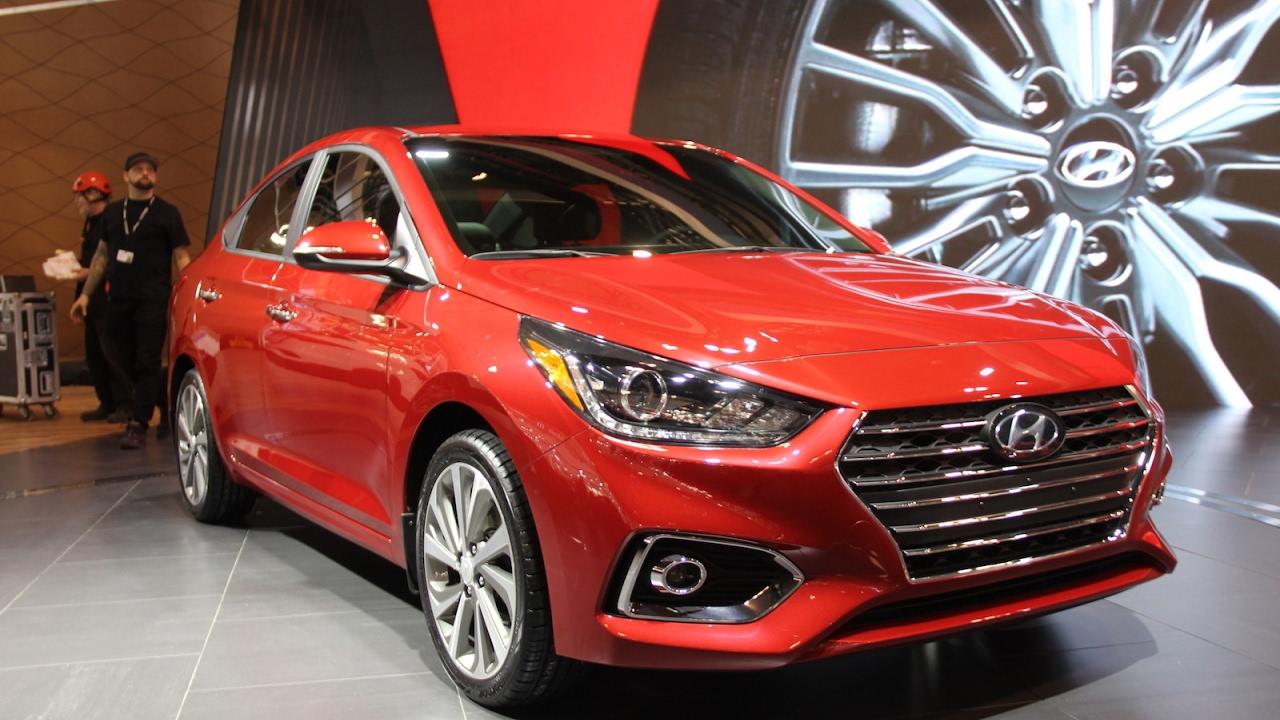 2018 Hyundai Accent First Look 2017 Toronto Auto Show