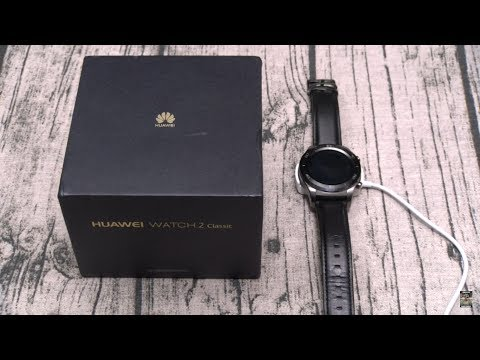 """Huawei Watch 2 """"Classic"""" Unboxing And First Impressions"""